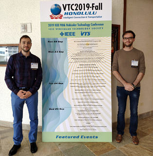 "Towards entry ""Two Papers at IEEE VTC 2019-Fall"""